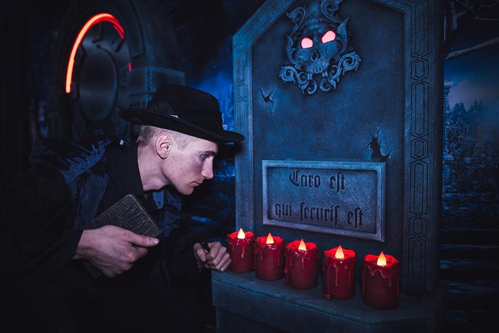 Escape Game - Sur les traces de Dracula