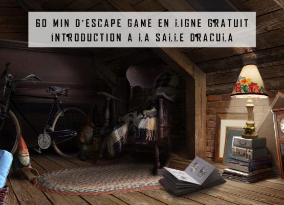 Dracula, l'escape game en ligne